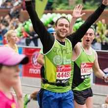 17 STAFF MEMBERS RAISED £34,000 BY COMPETING IN THE LONDON MARATHON