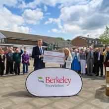 £1 MILLION RAISED BY BERKELEY STAFF