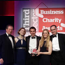 BERKELEY FOUNDATION SHORTLISTED FOR BUSINESS CHARITY AWARDS
