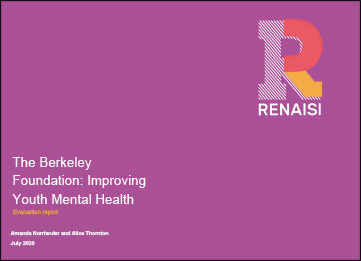 Improving Youth Mental Health
