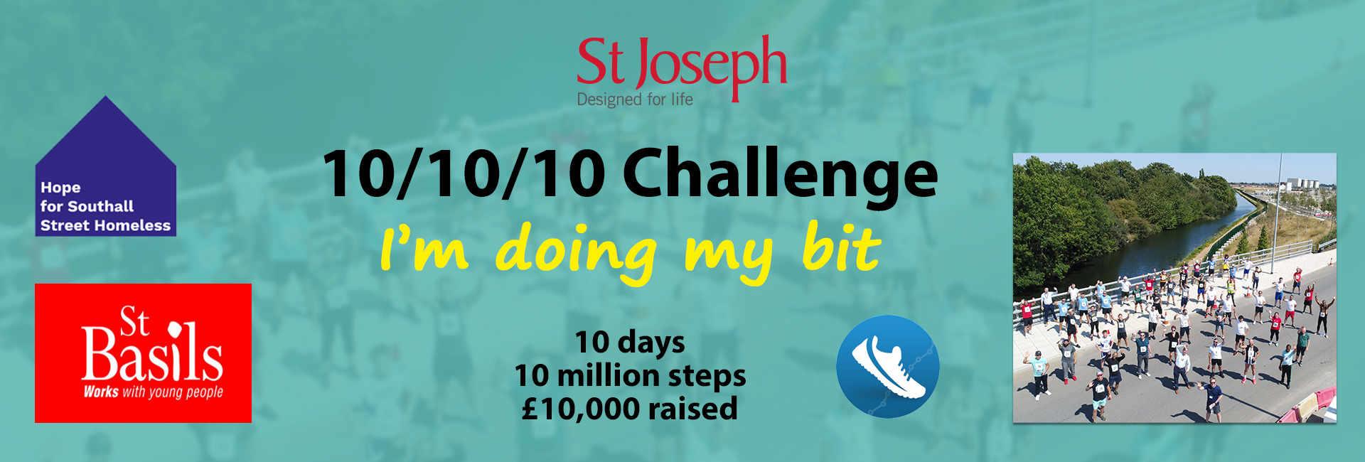 St Joseph 10 10 10 Challenge